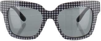 Dolce & Gabbana Black Plastic Sunglasses