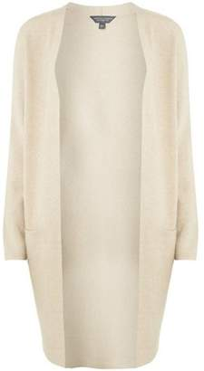 Dorothy Perkins Womens **Tall Camel Longline Coatigan