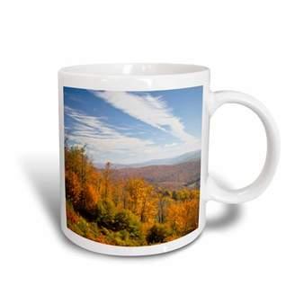 Walter 3drose 3dRose West Virginia, Cheat Bridge. Monongahela NF Autumn - US49 WBI0053 Bibikow, Ceramic Mug, 15-ounce