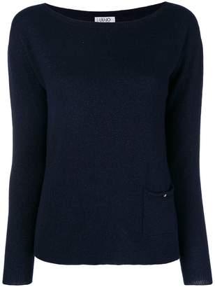 Liu Jo boat knit sweater