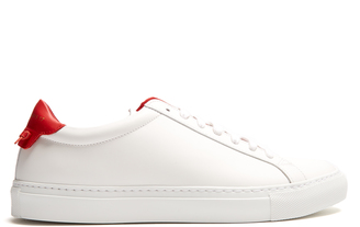 GIVENCHY Urban Street low-top leather trainers $354 thestylecure.com
