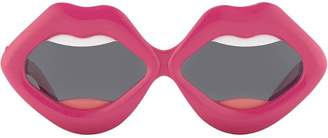 Linda Farrow Yazbukey lips sunglasses