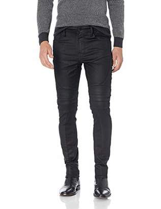 GUESS Men's Skinny Free Form Moto Jean