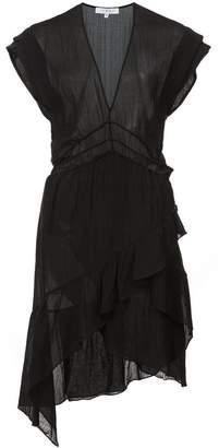 IRO Foroura asymmetric hem dress