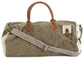 Duffel Bag With Recycled Fabric