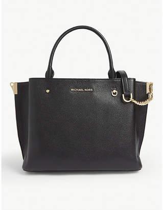 MICHAEL Michael Kors Arielle large leather satchel