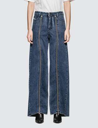 Diesel Red Tag Ultimate Wide Leg Jeans