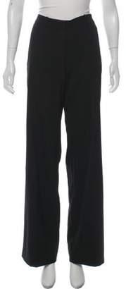 Balenciaga Wool Wide-Leg Pants Black Wool Wide-Leg Pants