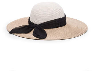 Eugenia Kim Honey Floppy Sun Hat w/ Scarf Band