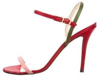 Fendi Ankle Strap Sandal