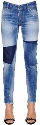 DSQUARED2 Dark Knee Skinny Denim Jeans