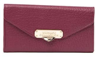 Versace Portafoglio Vitello Leather Wallet