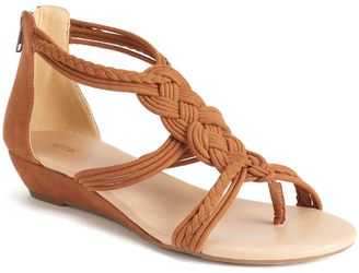 Apt. 9® Women's Woven Wedge Sandals $49.99 thestylecure.com