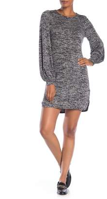 Max Studio Salt & Pepper Jersey Dress