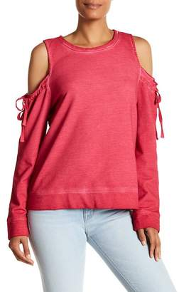 Sanctuary Parkside Cold Shoulder Sweater
