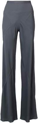 Rick Owens flared fitted trousers
