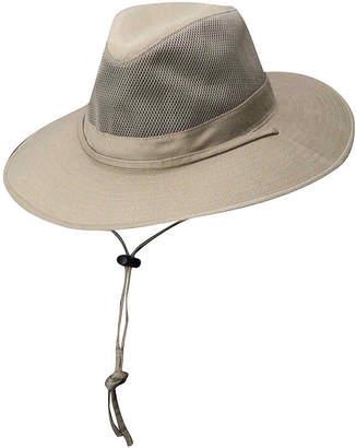 JCPenney Dorfman DPC Outdoor Design Solarweave Mesh Safari Hat