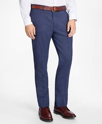 Brooks Brothers Slim-Fit Stretch-Wool Trousers