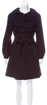 Rebecca Taylor Knee-Length Wool Coat