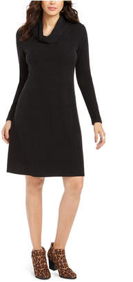 Style&Co. Style & Co Cowl-Neck Sweater Dress