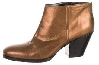Rachel Comey Metallic Ankle Boots