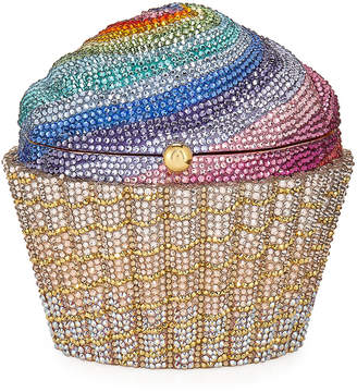Judith Leiber Couture Cupcake Rainbow Clutch Bag, Multicolor