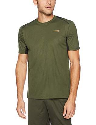 Copper Fit Men's Color Block Short Sleeve Crew Neck Tee