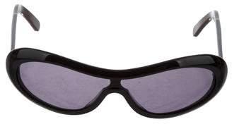 Marni Shield Tinted Sunglasses