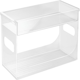 InterDesign Binz Cabinet Spice Rack Organiser Clear