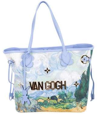 Louis Vuitton 2017 Masters Collection Neverfull MM Van Gogh w/ Tags