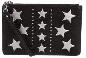 Rebecca Minkoff Leather Wristlet Pouch