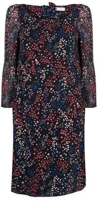 Claudie Pierlot Floral Crepe Dress