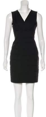 Robert Rodriguez Surplice Neck Sleeveless Dress