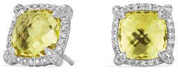 David Yurman 9mm Châtelaine® Stud Earrings with Diamonds