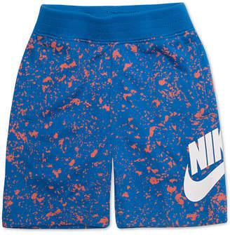 Nike Little Boys Sportswear Seasonal Alumni Printed Cotton Shorts
