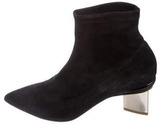 Nicholas Kirkwood Suede Ankle Boots Black Suede Ankle Boots