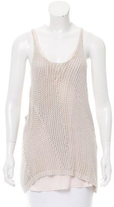 Inhabit Sleeveless Crocheted Top $75 thestylecure.com