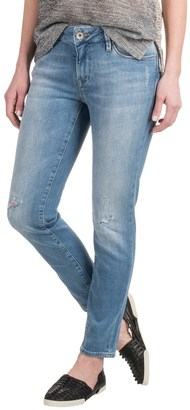 Mavi Adriana Super Skinny Ankle Jeans - Mid Rise, Straight Leg (For Women) $34.99 thestylecure.com