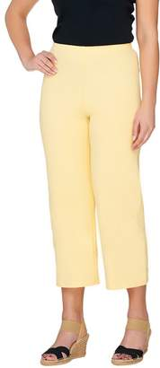 Women With Control Women with Control Pull-on Knit Crop Pants