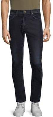 Versace Solid Stretch Skinny Jeans