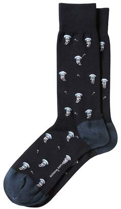 Banana Republic Jellyfish Sock