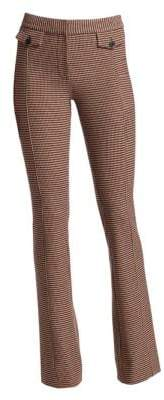 Derek Lam 10 Crosby Flannel Flared Trousers