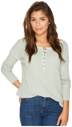 Rip Curl - Surf Bound Henley Women's Clothing $49.50 thestylecure.com