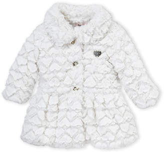 Juicy Couture Girls 4-6x) Snow Cap Faux Fur Jacket