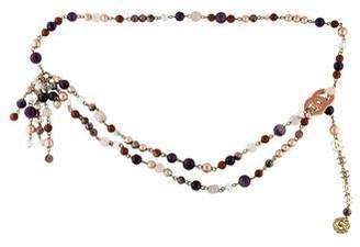 Chanel Embellished CC Belt