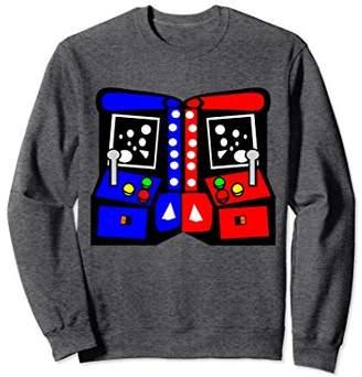 Vintage Arcade Game Consoles 80's Sweatshirt