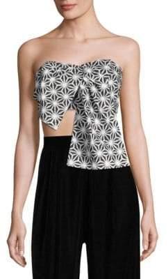 Petersyn Women's Joi Tie Cropped Top - Nomad - Size XS