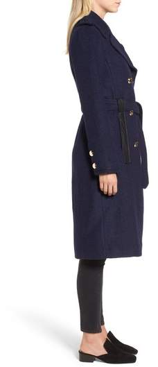 GUESS Boiled Wool Trench Coat