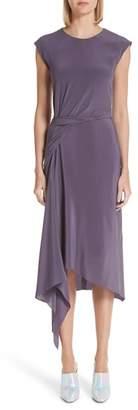 Sies Marjan Anita Gathered Waist Silk Dress