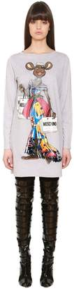 Moschino Printed Cotton Jersey Dress